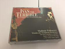 Ivan the Terrible (Tchaikovsky So, Fedoseyev)  CD MINT/NMINT - NIMBUS