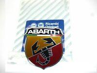 735496478 Stemma Emblema Fregio Anteriore Originale Abarth 500/595/695
