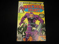Machine Man #1 (1978, Marvel) MID GRADE