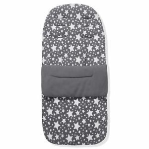 Fleece Footmuff / Cosy Toes Compatible with Babystyle Oyster 3 - Grey Star