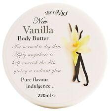 DermaV10 Vanilla Body Butter 220ml