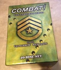 Combat! The Complete Series 40 disc set in original cases w/ outer box