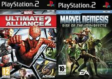 marvel ultimate alliance 2 & marvel nemesis rise of the imperfects   PS2 PAL