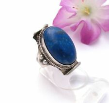 Natürliche Lapis Lazuli-Ringe mit Edelsteinen Unisex Sets