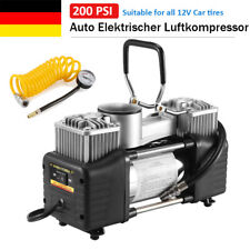 Tragbare Auto Reifen Kompressor 12V Luftkompressor Inflator 150 PSI 85L/min DHL