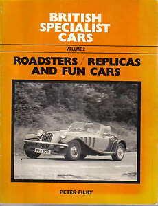 British Specialist Cars Vol 2 Roadsters Replicas Fun Cars Biota Dutton Lynx RMB+