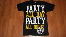 Rapper WIZ KHALIFA T-Shirt Medium Party All Day Party All Night HIP HOP RAP