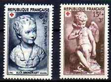 France 1950 Yvert n° 876 et 877 neuf ** 1er choix