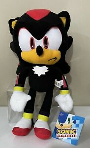 Brand New Licensed Super Sonic the Hedgehog Classic Shadow Plush Toy 30cm