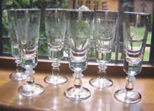 Etched Crystal Glass Drinkware/Stemware