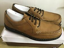 Hush Puppies Vines Victory Shoes Brown leather Mens UK 15 EUR 51