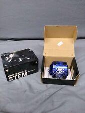 RaceFace Atlas Direct Mount Stem, 50mm +30 degree Blue 31.8 Bar Clamp