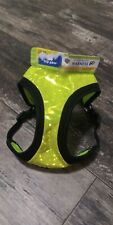"Hi-Visibility Neon Reflective Dog Vest Harness Size M Girth 19-23"" NWT #60"