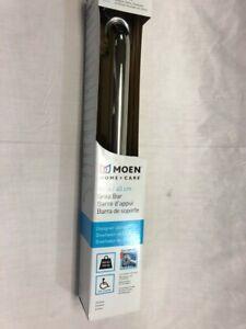 Moen LR8716D3CH Home Care 16-Inch Safety Bathroom Grab Bar, Chrome