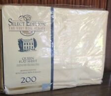 New Select Edition Queen Flat Sheet In Package