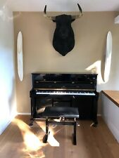 C. Bechstein Klavier Euterpe E112 schwarzer Klavierlack- pure Eleganz