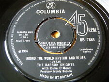 "THE BARRON KNIGHTS - ROUND THE WORLD RHYTHM AND BLUES  7"" VINYL"