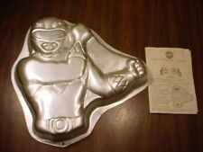 Wilton Mighty Morphin POWER RANGER cake pan HERO baking mold tin w/ INSTRUCTIONS