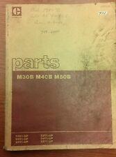 CAT Caterpillar M30B, 40B, 50B Parts Manual