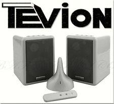 TEVION FLS292 Designer FUNK Lautsprecher AKTIV 2>Wege HiFi Boxen 2,4GHZ 100m 31