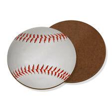 Baseball Ball Coaster Drinks Mat - Funny Sport