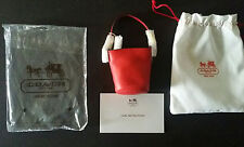 Mattel Barbie Coach Doll NWT Red Leather Purse Bag~Sold Out~ HTF