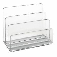 Osco Clear Acrylic Desktop Letter Holder