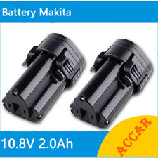 2X Battery For Makita 10.8V Li-ion 2.0Ah BL1013 NEW 194550-6 DF030D DF030DWX AU