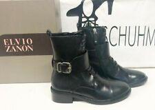 Elvio Zanon  Stiefelette schwarz Leder 40