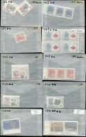 CANADA STAMPS - LOT OF 18 GLASSINE ENVELOPES - MINT, NEVER HINGED