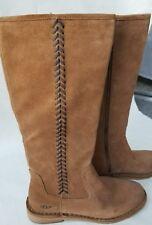 NEW UGG Wilder Chestnut Suede Boots Sz 7.5 S/N 1008967