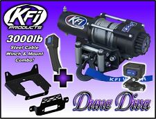 3000lb KFI Steel Winch Mount Combo - Can-Am Maverick X3 and Max 2017-18