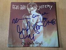 Pearl Jam signed X5 Jeremy 7 inch vinyl record Eddie Vedder 10 proof