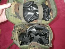 S10 GAS MASK SIZE 2 EX BRITISH ARMY WITH DPM BAG