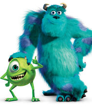 Monsters Inc Sully and Mike POSTER
