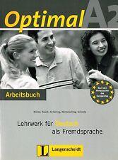 Langenscheidt ottimale a2 Arbeitsbuch lehrwerk pelliccia Deutsch ALS fremdsprache @new @