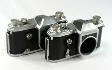 2 Pentacon SLR Camera Bodies