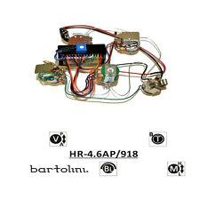 Bartolini HR-4.6AP Pre-Wired 3 Band EQ Active/Passive Preamp