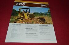 Fiat Allis FD7 Dozer Crawler Tractor Dealer's Brochure DCPA6 Ver3