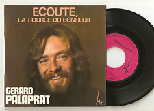 """GERARD PALAPRAT: Ecoute, la source du bonheur - 7"""" SP 1974 DISC AZ SG 480 N"""