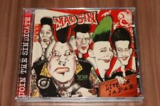 MAD SIN-Live au Japon (2006) (CD) (BE BE 'S RECORDS – BE BE CD 014) (NEUF + neuf dans sa boîte)