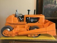 "Marx A Power Giant Bulldozer Battery Powered Toy 18"" Long"