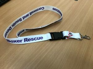 Cornwall & South Devon Boxer Rescue Lanyard / Key Chain