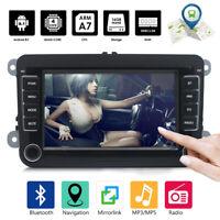 "2 DIN 7"" Car Stereo Radio Android GPS Nav MP5 Player For VW GOLF 5 V 6 Variant"