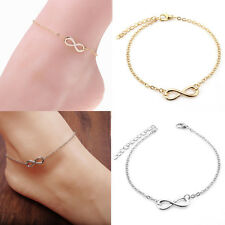 Silver Chain Beach Women Jewelry Fashion Ankle Anklet Bracelet Barefoot Gold