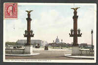 DATED 1911 PPC WASH DC CAPITOL FROM UNION STATION SENT TO HOBART TASMANIA ETC