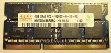 4GB SODIMM de memoria portátil SK Hynix 204-pin - DDR3-PC3 10600