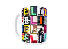 FELIX Coffee Mug / Cup featuring the name in photos of sign letters