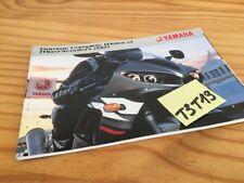 Yamaha 2003 reihe motorräder und maxi roller moto prospekt katalog werbung