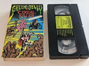 GREEN JELLY: CEREAL KILLER Concert/Music VHS Video 10 Songs RARE HTF Green Jello